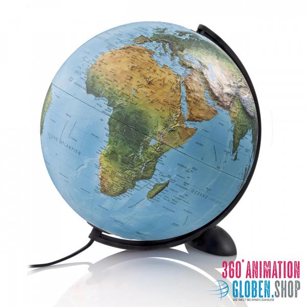 Relief globe Atmosphere Ellipse R - Ø 30 cm