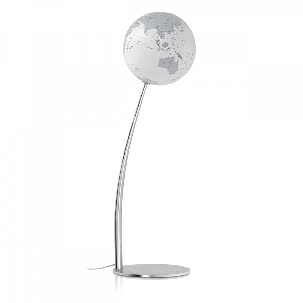 "Floor Globe Atmosphere ""New World"" Stem Reflection - Ø 30 cm"