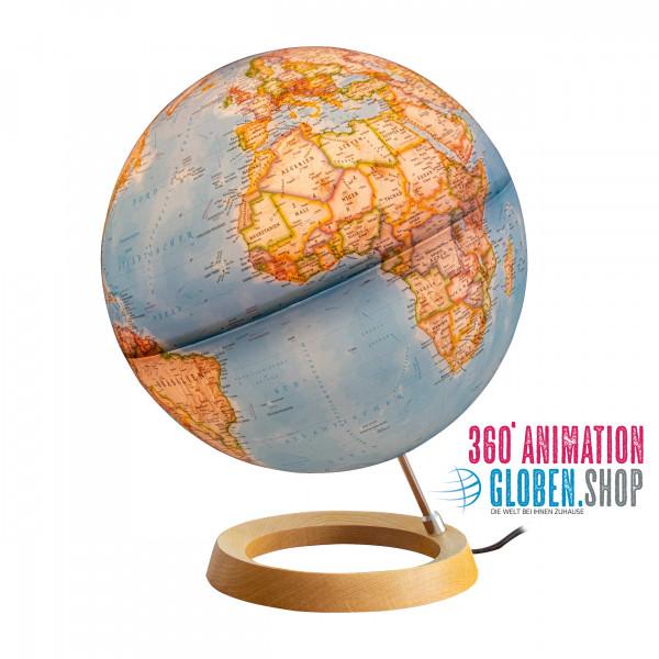 Leuchtglobus - National Geographic - Zustand: Globus beleuchtet