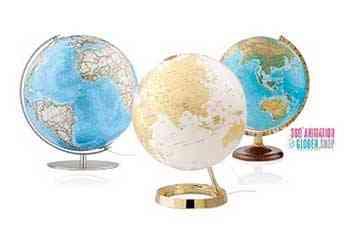 Tischglobus Modelle zeigen