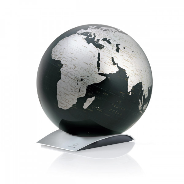 "Tischglobus Atmosphere ""New World"" Capital Q Black - Ø 30 cm"