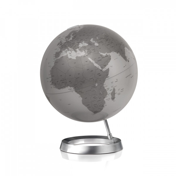"Desk Globe Atmosphere ""New World"" Vision Silver - Ø 30 cm"