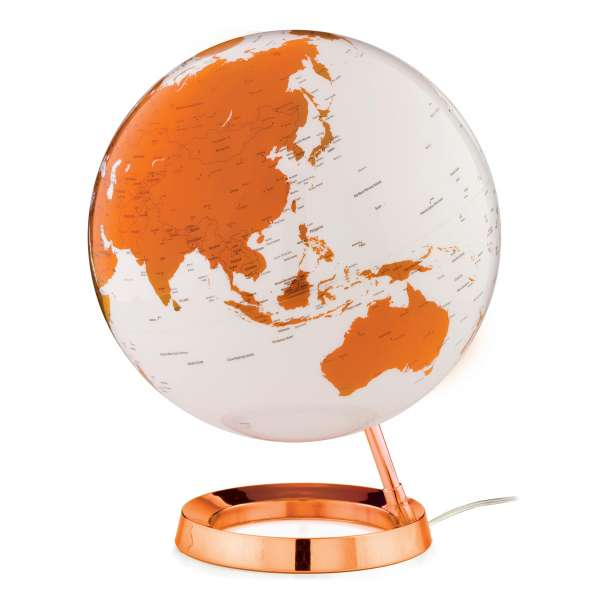 "Globe ""New Light&Colour"" Hot Tangerine - Ø 30 cm"