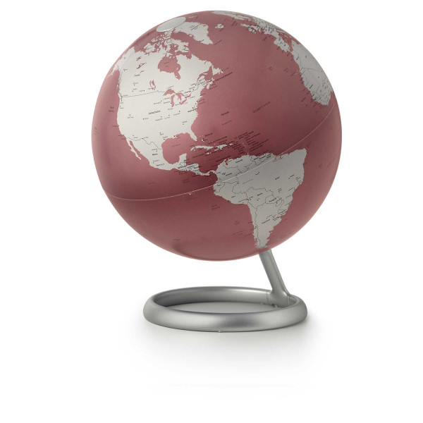 Design illuminated globe Atmosphere Evolve Cardinal Red