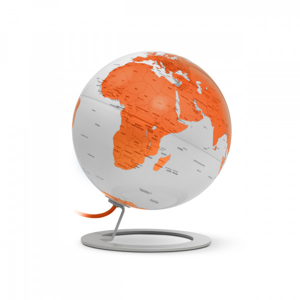 "Tischglobus Atmosphere ""New World"" iGlobe Light Orange - Ø 25 cm"