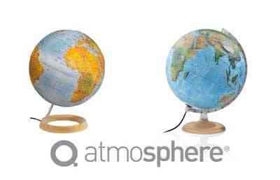 Relief globes
