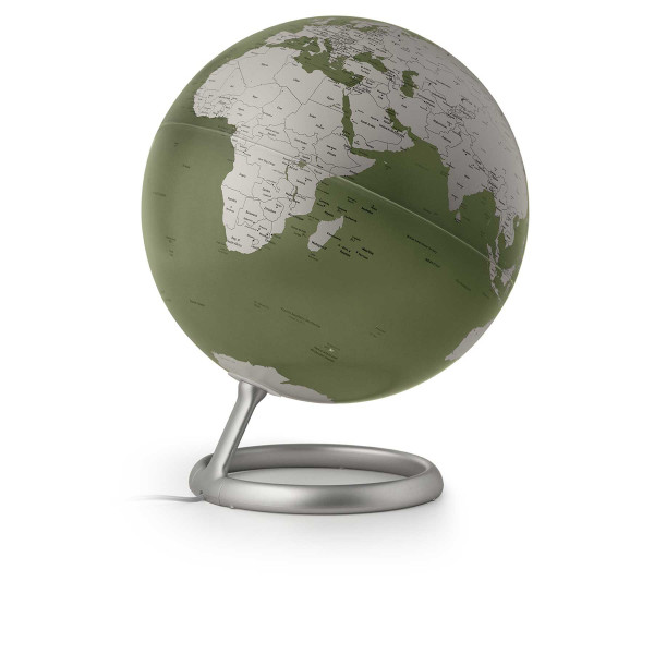 Design-Leuchtglobus Atmosphere Evolve Fern Green