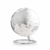 "Tischglobus Atmosphere ""New World"" iGlobe Light Chrome - Ø 25 cm"