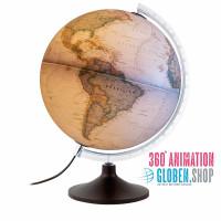National Geographic Carbon Executive - beleuchtet mit deutscher Kartographie