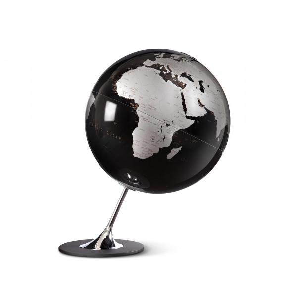 """Desk Globe Atmosphere """"New World"""" Angelo Black - Ø 25 cm"""