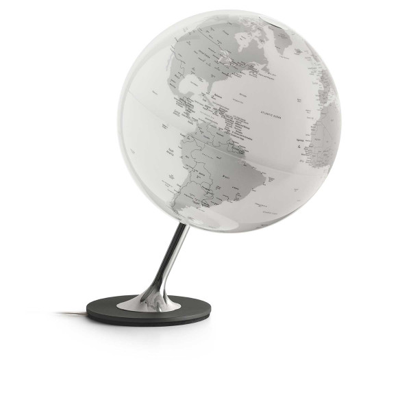 Design-Leuchtglobus Atmosphere Anglo Chrome
