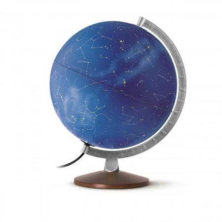 Globus Sternenbild