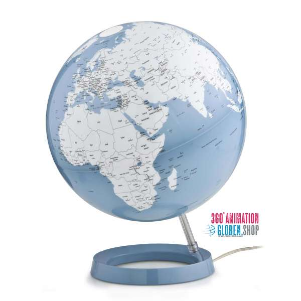 "Globe ""New Light&Colour"" Pastel Azure - Ø 30 cm"