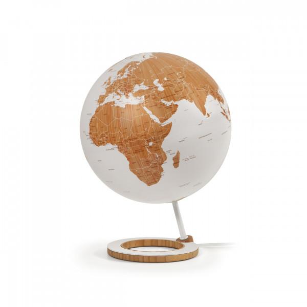 "Desk Globe Atmosphere ""New World"" Bamboo Globe - Ø 25 cm"