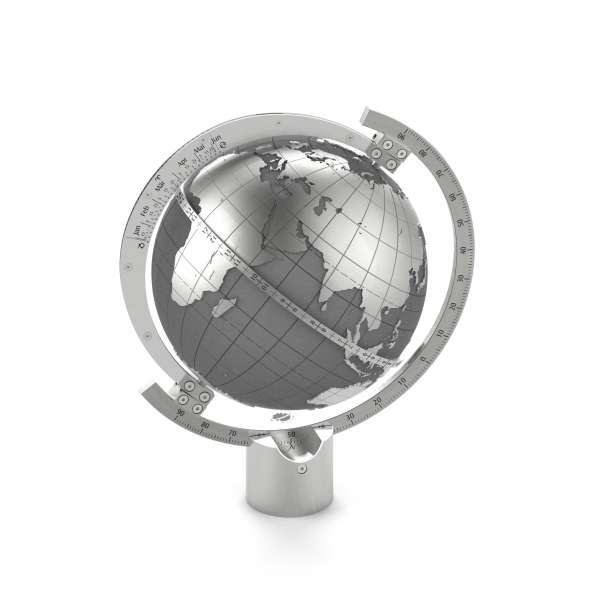 Globus Sonnenuhr - Magellan für den Außen- und Innenbereich