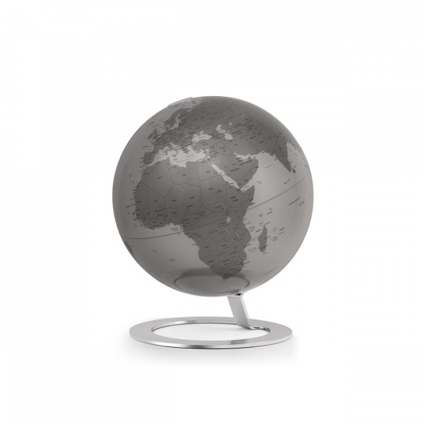 "Desk Globe Atmosphere ""New World"" iGlobe Silver"