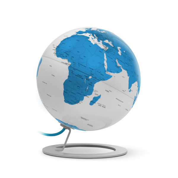 "Desk Globe Atmosphere ""New World"" iGlobe Light Turquoise - Ø 25 cm"