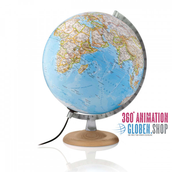 "Desk globe - National Geographic ""Silver Classic"" - Ø 30 cm"