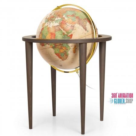 Räthgloben - Antik Globus - Standglobus